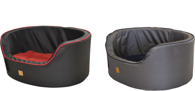 Tuff Dog Round Bed with High Sides